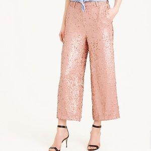 J Crew Collection Sequin Gazebo Pants NEW